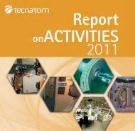 Report on ACTIVITIES - Tecnatom