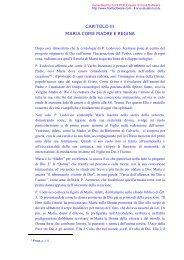 Capitolo III - Suore Francescane Immacolatine