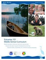 Estuaries 101 Middle School Curriculum - Estuaries NOAA