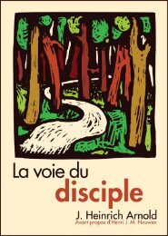 La voie du disciple - Plough