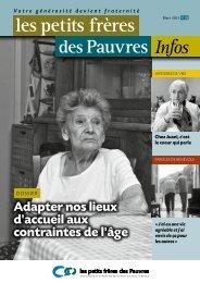 Les petits frères des Pauvres infos n°28 - mars 2013