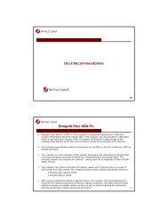 Stock Recommendations Dangote Flour Mills Plc - Sterling Capital ...