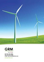 technical@grmltd.co.uk - GRM Insulation Solutions