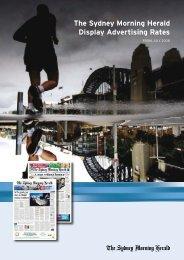 The Sydney Morning Herald Display Advertising ... - Adcentre.com.au