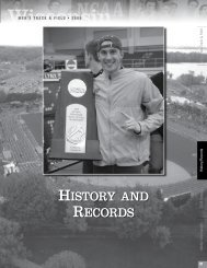 HISTORY AND RECORDS - UWBadgers.com