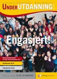 Under Utdanning 3/2010 - Pedagogstudentene