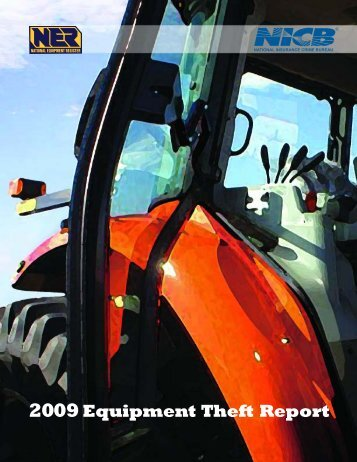 2009Equipment Theft Report - National Equipment Register