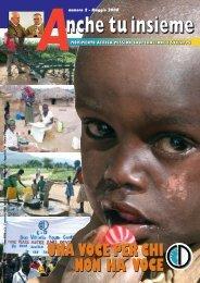 Anche tu -maggio 2008 ok ok - Africa Mission