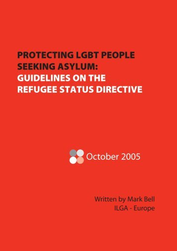 GUIDELINES ON THE REFUGEE STATUS ... - ILGA Europe