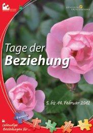 Tage der Beziehung - Familienreferat - Diözese Graz-Seckau