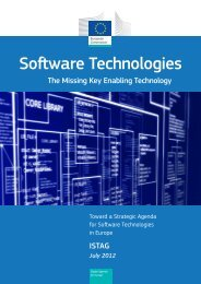 Software Technologies - The Missing Key Enabling ... - CORDIS