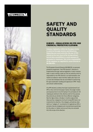 SAFETY AND QUALITY STANDARDS - Ansell Protective Solutions