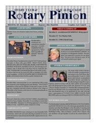 December 1, 2003 - Palo Alto Rotary
