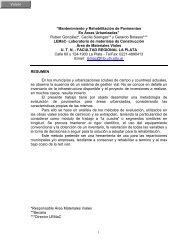 """""""Mantenimiento y Rehabilitación de Pavimentos En Áreas ... - LEMaC"""