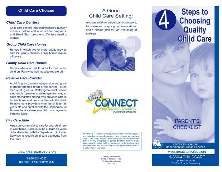 choosing quality child care