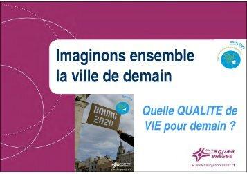 """Atelier """"Quelle qualité de vie pour demain ?"""" - Bourg-en-Bresse"""