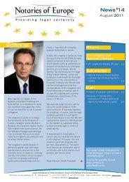 News#14 3ème congrès des Notaires d'Europe - CNUE