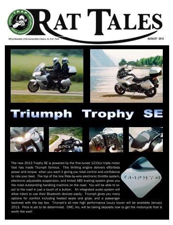 August 2012 - Triumph Riders Association of Portland