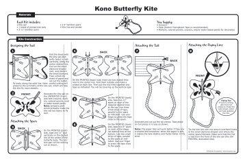 Kono Butterfly Kite - Drachen Foundation