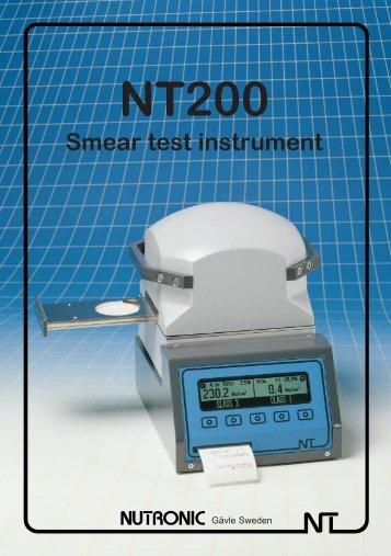 Smear test instrument