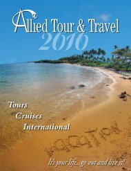 2010 - Allied Tour and Travel