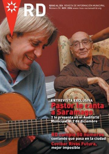 rd nº 50 noviembre 2006 pdf - Ayuntamiento Rivas Vaciamadrid