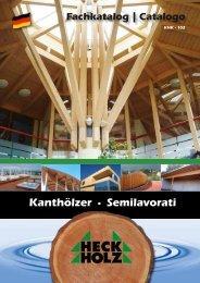 Kanthölzer • Semilavorati in legno massello - Heck-Holz