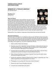 Discussion Guide - Macmillan