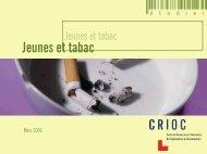 Jeunes et tabac - Crioc
