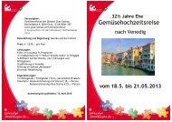 Gemüsehochzeitsreise - Familienreferat - Diözese Graz-Seckau