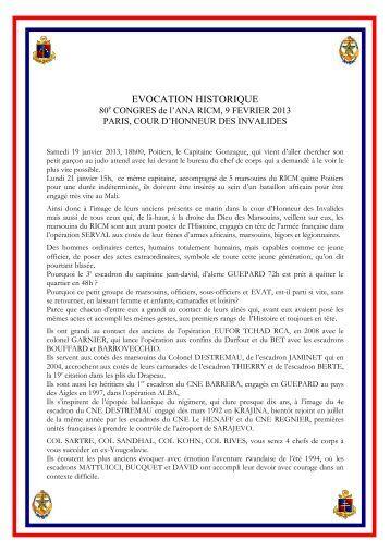 2013_02_09_Discours CDC Congrés des ... - Anciens du RICM