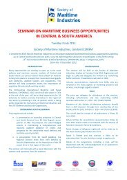 register now - Society of Maritime Industries