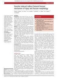 Gunshot induced indirect femoral fracture ... - Koh Tao EMS
