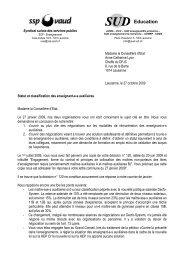 lt_auxiliaires oct 2009 déf - SSP - Vaud / Syndicat des services publics