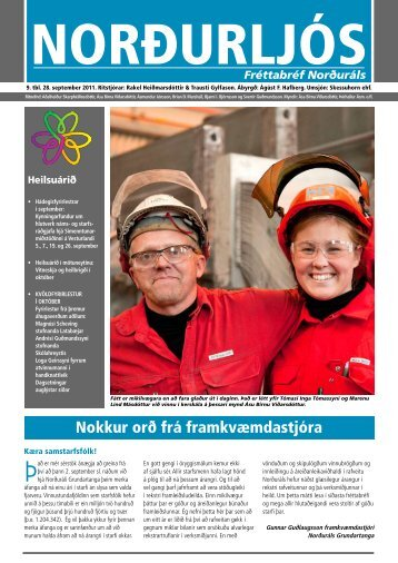 9. tölublað 2011 - Norðurál