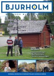 Kommunal information nummer 3, 2010 - Bjurholm kommun