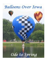 March/April 2005 - Balloons Over Iowa