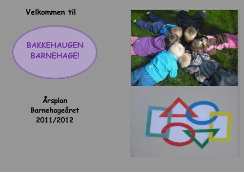 Velkommen til BAKKEHAUGEN BARNEHAGE! - Ringsaker kommune