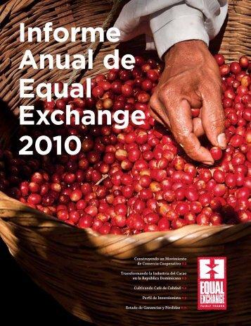 Informe Anual de Equal Exchange 2010