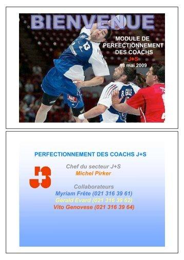 moniteurs - Handballouest