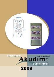 Reservedele Butiksinventar Reservedele - Akudim