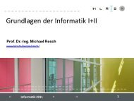 Informatik 2011 Eclipse - HLRS