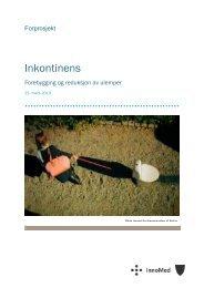 reha130321_forprosjektrapport_-_inkontinens.pdf (2.9 MB) - Innomed