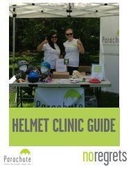 Helmet Clinic Guide - No Regrets - Parachute