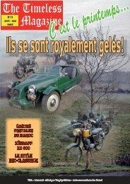 Timeless Magazine 12.indd - Les vestes Belstaff en France par ...