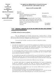 Objet : Finances – Ristourne sur le prix de vente de l'eau pour ...