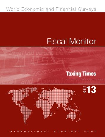 FISCAL MONITOR October 2013 Taxing Times International ... - Rtbf