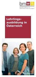 Lehrlings- ausbildung in Österreich - Bundesministerium für ...