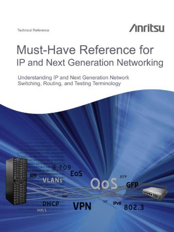 Must-Have Reference for IP and Next Generation ... - ETA International