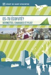Calepin – Devinettes, charades et plus - Cégep Saint-Hyacinthe